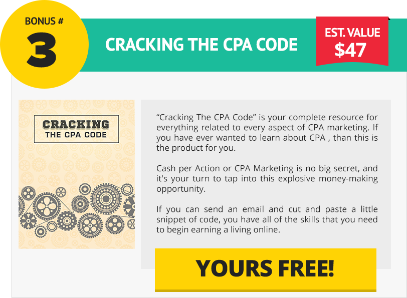 cpa marketing excellence bonus page